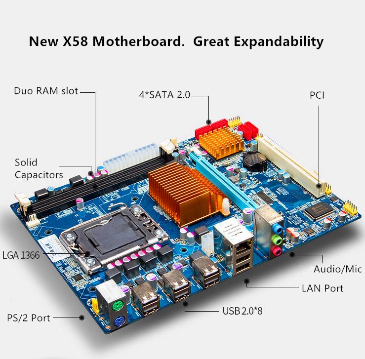 motherboard detail